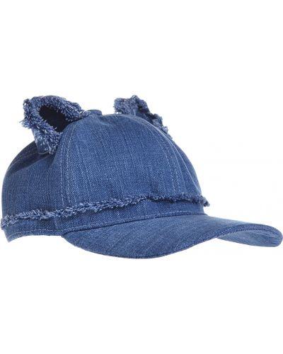 Синяя кепка Karl Lagerfeld