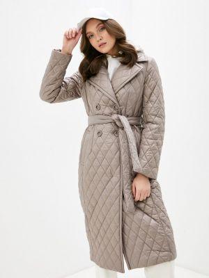 Бежевая утепленная куртка Avalon