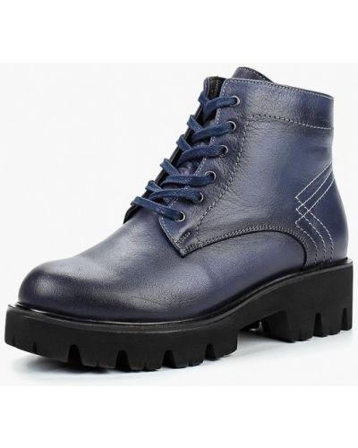 Кожаные ботинки осенние кожаные Pierre Cardin