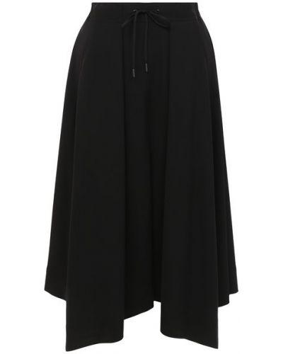 Шерстяная юбка - черная Isabel Benenato