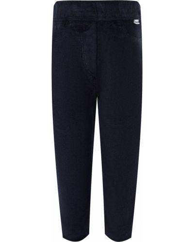 Хлопковые синие брюки Il Gufo