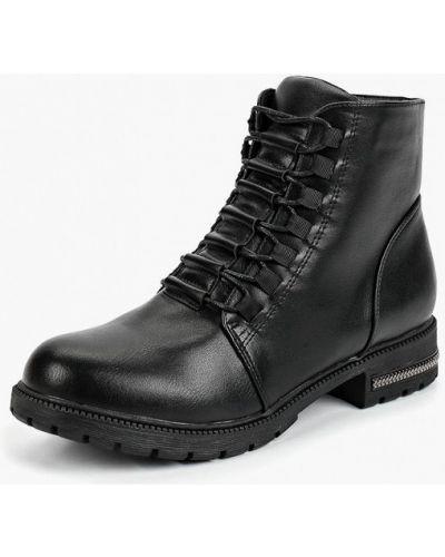 Кожаные ботинки на каблуке осенние T.taccardi