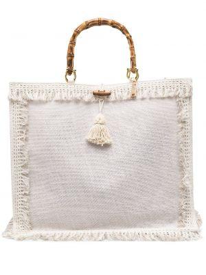 Złota beżowa torebka La Milanesa