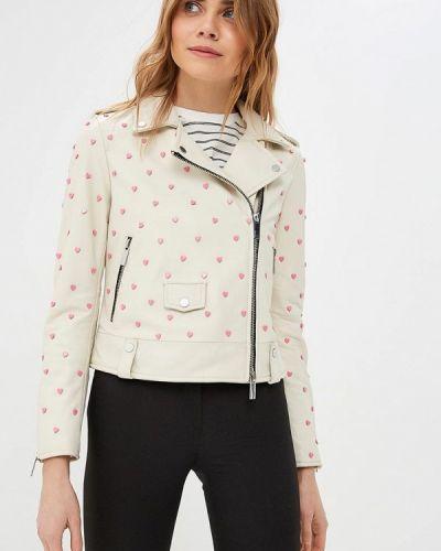 Белая куртка Oakwood