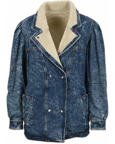 Niebieska kurtka jeansowa Isabel Marant