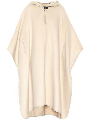 Żółty bawełna bawełna ponczo na przyciskach Isabel Marant