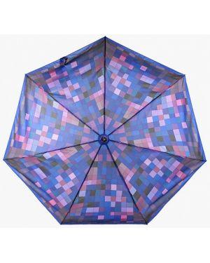 Складной зонт - синий Fabretti
