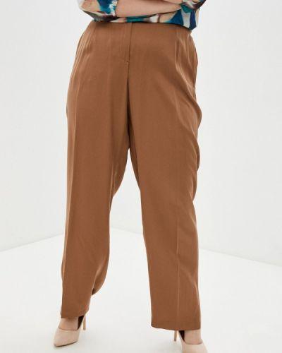 Прямые коричневые брюки Ulla Popken
