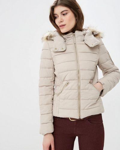 Утепленная куртка - бежевая Alcott