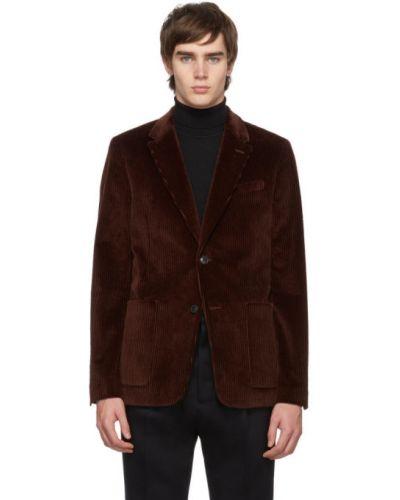 Пиджак вельветовый с карманами Ami Alexandre Mattiussi