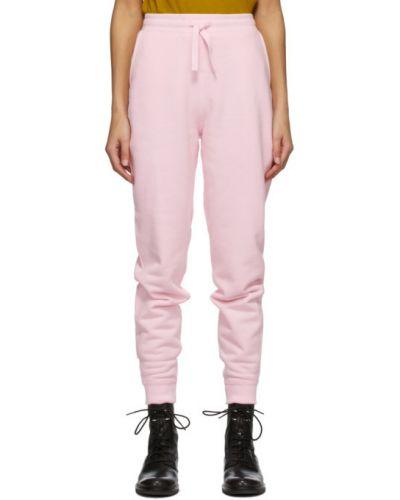 Różowy bawełna bawełna spodnie z kieszeniami Rag & Bone