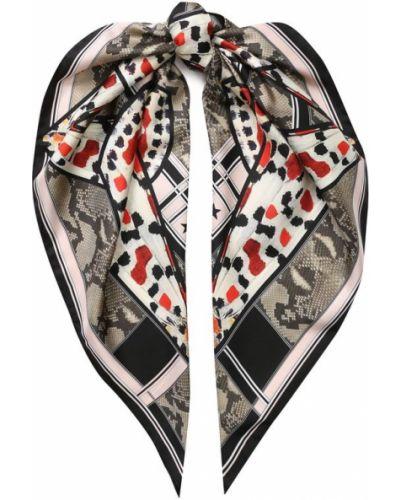 Бежевый платок из шелка Givenchy