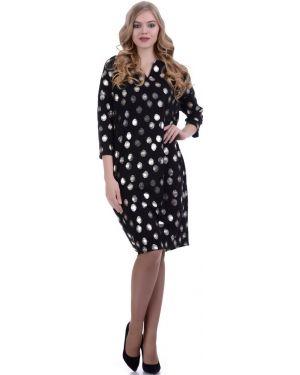 Платье мини оверсайз с V-образным вырезом Lautus