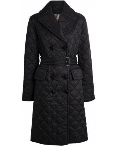 Стеганое пальто пальто легкое Burberry