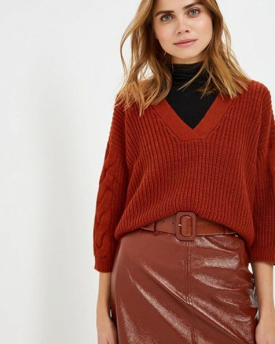 Коричневый пуловер Rinascimento