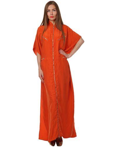 Платье весеннее красный Jean Paul Gaultier