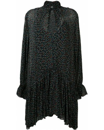 Приталенное драповое платье Magali Pascal