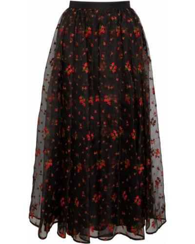 Czarna spódnica Erdem