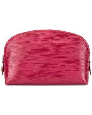 Torba kosmetyczna skórzany z logo Louis Vuitton