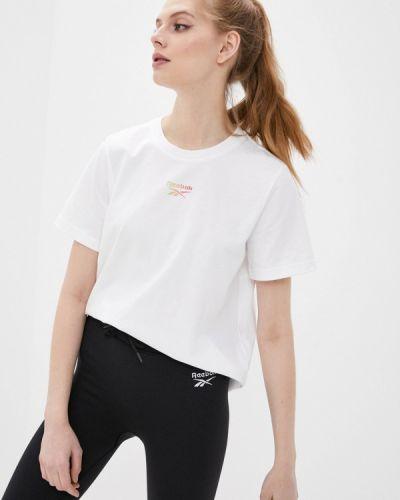 Белая футболка Reebok Classic