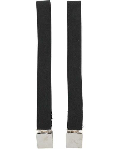 Черные подтяжки эластичные Gianfranco Ferre Pre-owned