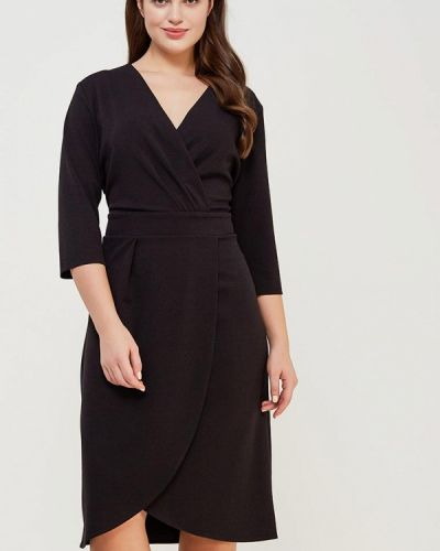Платье осеннее черное Kitana By Rinascimento