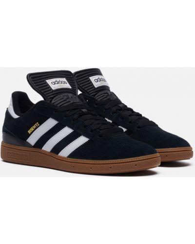 Черные текстильные кроссовки Adidas Skateboarding