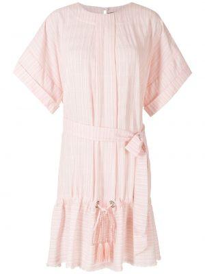 Платье мини короткое - розовое À La Garçonne