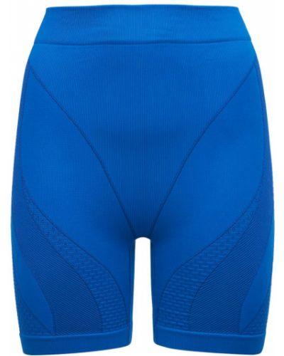Синие леггинсы эластичные Adidas X Ivy Park