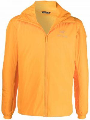 Pomarańczowa kurtka z kapturem Arcteryx