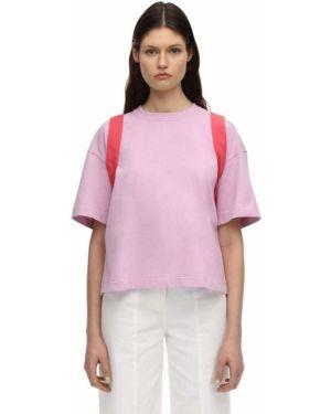 T-shirt bawełniana - różowy Ambush