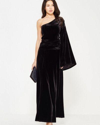 Вечернее платье осеннее черное Trendyangel