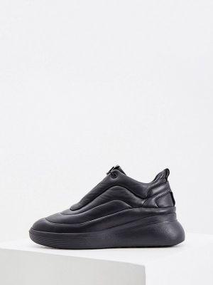 Черные демисезонные кроссовки Hogl