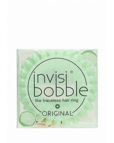 Зеленая резинка для волос Invisibobble