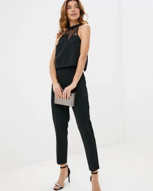 Брючный комбинезон джинсовый черный Guess Jeans