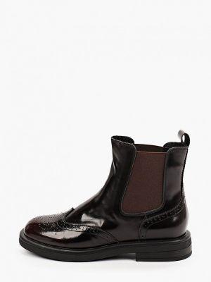Бордовые ботинки из полиуретана Sprincway