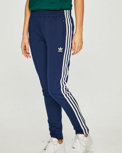 Брюки на резинке с карманами на молнии Adidas Originals