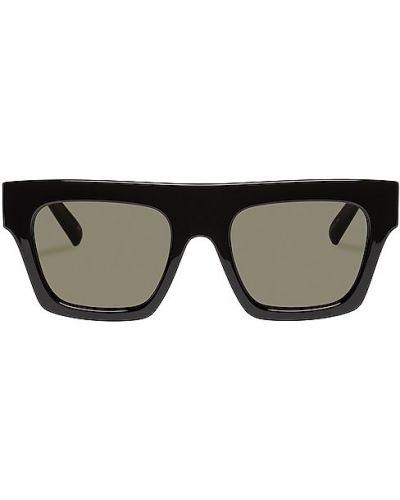 Черные солнцезащитные очки Le Specs