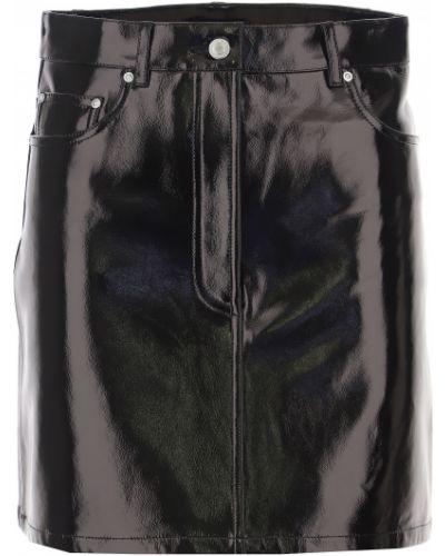 Czarna spódnica zimowa Helmut Lang
