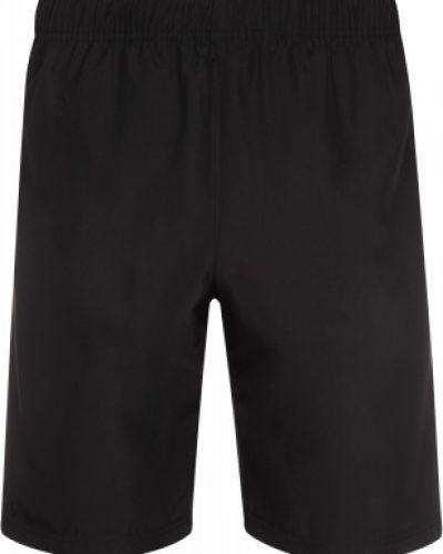 Спортивные прямые черные шорты Gsd