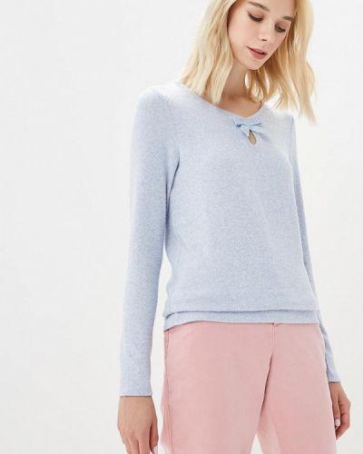 Голубой пуловер Naf Naf