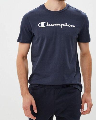 Синяя футболка Champion