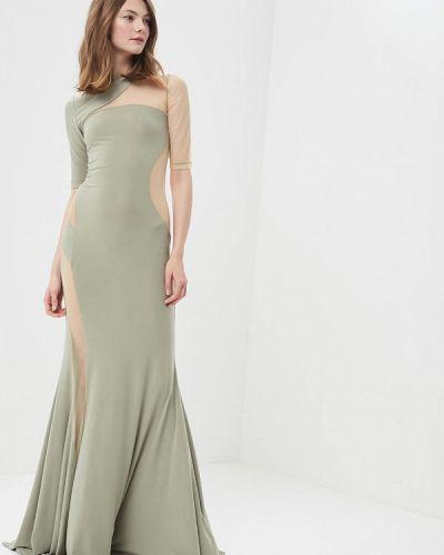 Зеленое вечернее платье Vestetica