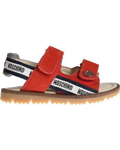 Сандалии красный Moschino