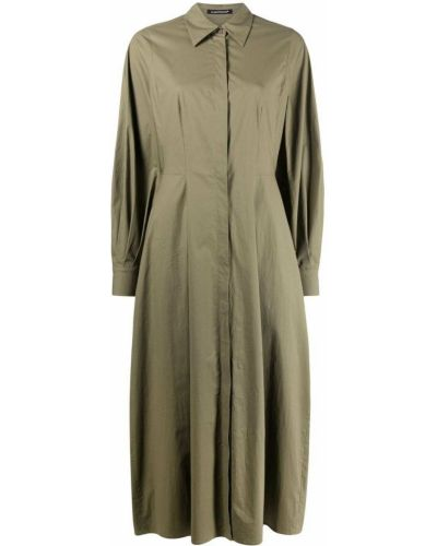 Свободное зеленое платье макси свободного кроя Luisa Cerano