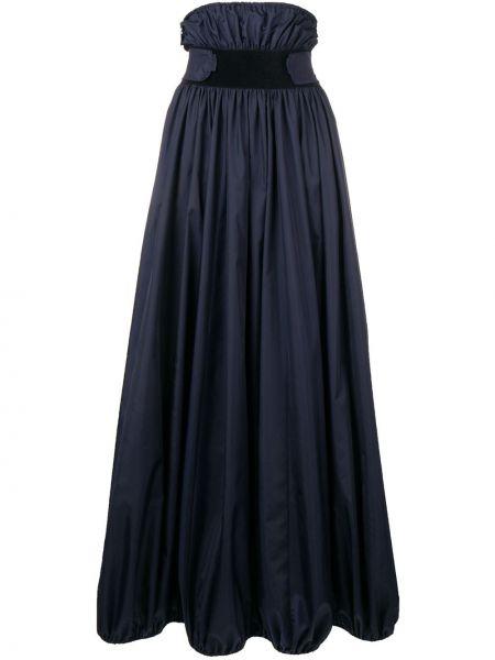 Платье с поясом с рукавами длинное Nina Ricci