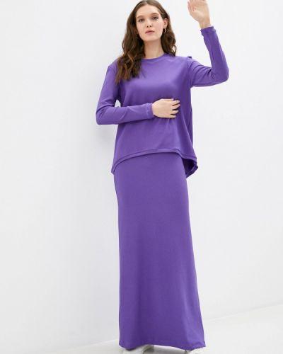 Фиолетовый костюмный костюм Sahera Rahmani