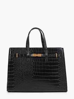 Черная зимняя сумка Mango