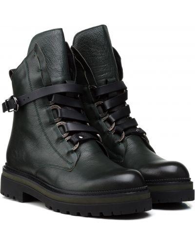 Ботинки - зеленые Anemone