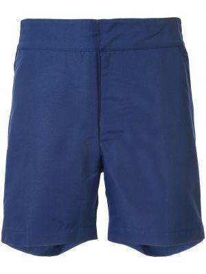 Niebieskie krótkie szorty Frescobol Carioca